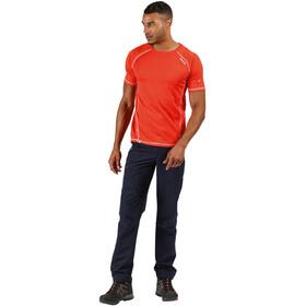 Regatta Virda II T-Shirt Homme, burnt salmon